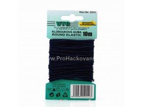 Klobouková guma 1,2 mm - na kartě tmavě modrá
