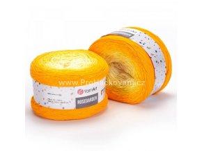 Rosegarden 309 smetanová, jemná žlutá, žlutá, oranžová