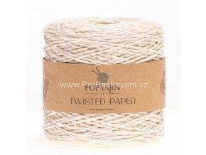 Papírová příze Twisted Paper 521 krémová