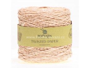 Papírová příze Twisted Paper 524 lososová