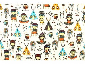 bavlnena latka indiani s 160