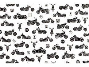 bavlnena latka motorky