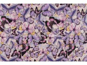 uplet motyl svetle fialova s 155 cm