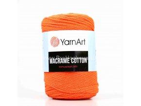 Macrame Cotton 800 zářivá oranžová