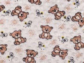 latka minky hnedy medvidek 2