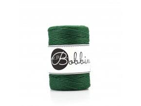 Bobbiny macrame Cord 1,5 mm Lesní zelená ( Pine green)