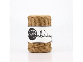 Bobbiny macrame Cord 1,5 mm Karamel (Caramel)