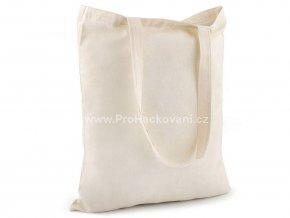 Textilní taška bavlněná k domalování 34x39 cm