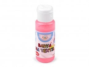 Barva na textil 60 ml růžová neon