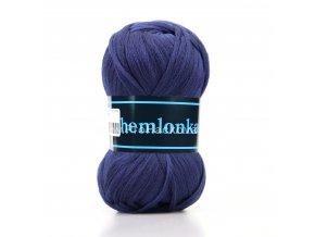 příze Chemlonka 542 modrá jeans