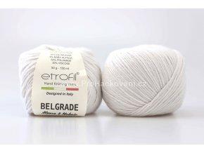 Příze Belgrade 70027 bílá