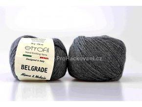 Příze Belgrade 6091 tmavě šedá