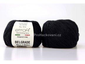 Příze Belgrade 5040 antracitově černá