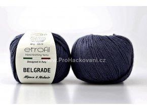 Příze Belgrade 70533 tmavě modrá