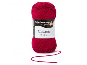 Příze Catania 192 bordó