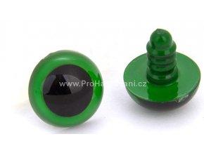Oči bezpečnostní zelené 10 mm