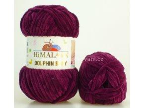 příze Dolphin Baby 80339 vínově fialová