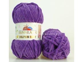 příze Dolphin Baby 80340 fialová