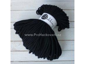 Bobbiny šňůry, 100% bavlna - černé