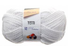 příze Yetti 57076 bílá