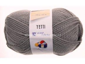 příze Yetti 58060 šedá