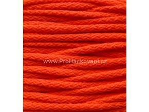 Šňůry PES Neon 07 oranžové