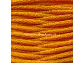 Šňůry PES Neon 05 žlutooranžová
