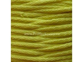 Šňůry PES 03 světle žluté