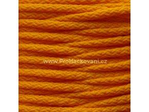 Šňůry PES 06 oranžové