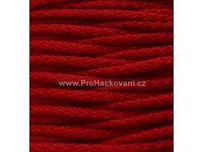 Šňůry PES 11 tmavě červené