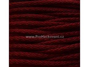 Šňůry PES 12 hnědočervené