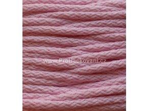 Šňůry PES 14 světle růžové