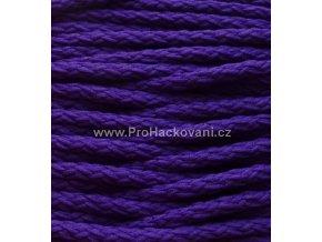 Šňůry PES 22 tmavší fialové
