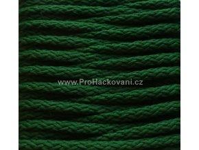 Šňůry PES 36 trávová zelená