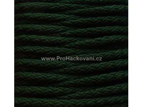Šňůry PES 38 tmavě zelená