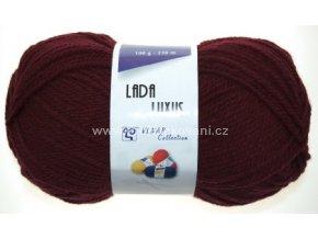 příze Lada Luxus_52124 bordó