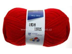 příze Lada Luxus 52180 Červená