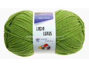 příze Lada Luxus_52420 zelená