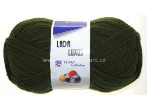 příze Lada Luxus 55075 khaki