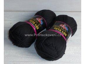 příze Seta Lux 20522 černá
