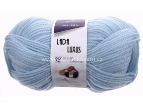 příze Lada Luxus_56220 bledě modrá