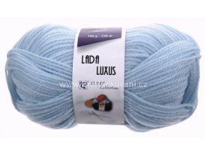 příze Lada Luxus 56220 bledě modrá