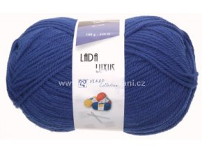 příze Lada Luxus 56801 modrá