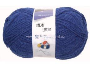 příze Lada Luxus_56801 modrá
