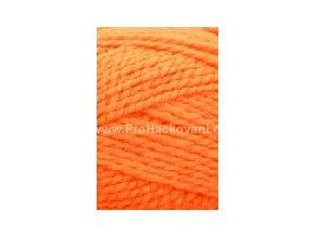 příze Lada Luxus_50011 neon oranžová