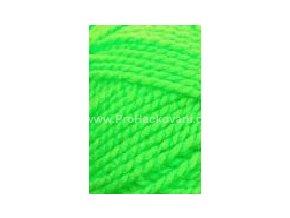 příze Lada Luxus_50012 neon zelená