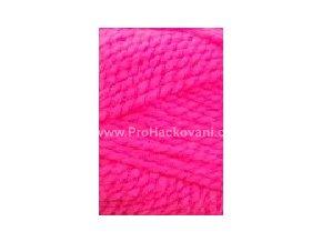příze Lada Luxus_50014 neon růžová