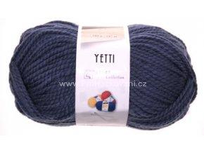 příze Yetti 56510 tmavá šedomodrá