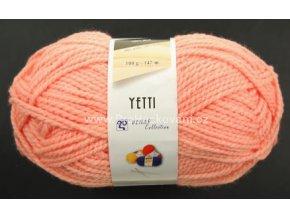 příze Yetti 55015 meruňkově lososová