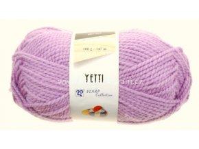 příze Yetti 53111 fialková